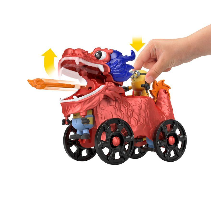 Mini-Figura-e-Veiculo---Minions-e-Dragao---Imaginext---Amarelo---Mattel-2