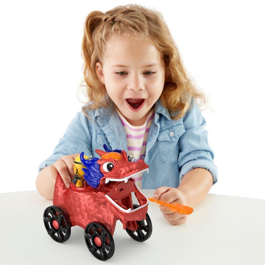Mini-Figura-e-Veiculo---Minions-e-Dragao---Imaginext---Amarelo---Mattel-5