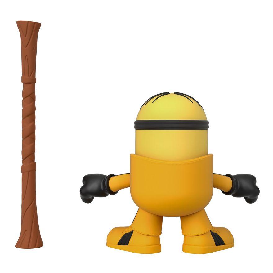 Mini-Figura---Imaginext-Minions-Kung-Fu-Stuart---Amarelo---Fisher-Price---Mattel--1