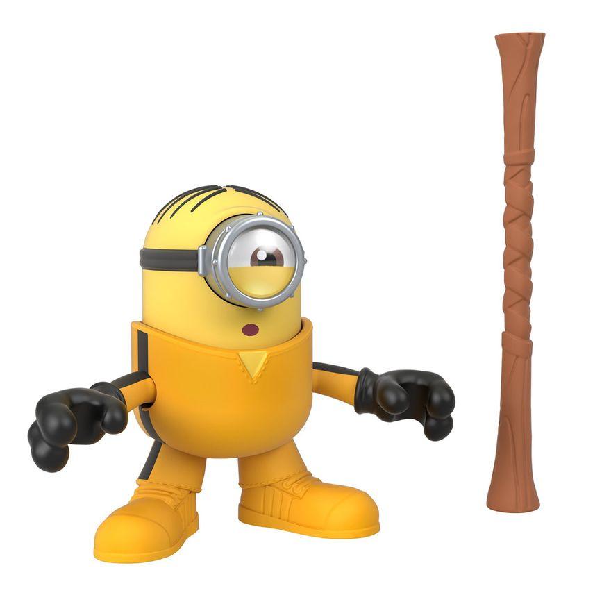 Mini-Figura---Imaginext-Minions-Kung-Fu-Stuart---Amarelo---Fisher-Price---Mattel--2