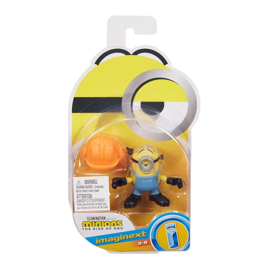 Mini-Figura---Imaginext-Minions-Stuart---Amarelo---Fisher-Price---Mattel--2