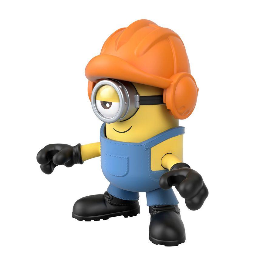 Mini-Figura---Imaginext-Minions-Stuart---Amarelo---Fisher-Price---Mattel--3