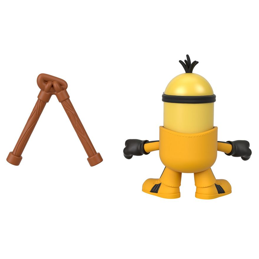 Mini-Figura---Imaginext-Minions-Kung-Fu-Kevin---Amarelo---Fisher-Price---Mattel--1