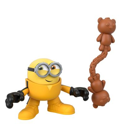Mini-Figura---Imaginext-Minions-Kung-Fu-Bob---Amarelo---Fisher-Price---Mattel--0