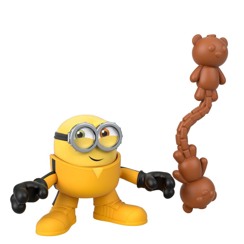 Mini Figura - 7Cm - Imaginext - Minions - Kung Fu Bob - Fisher-Price