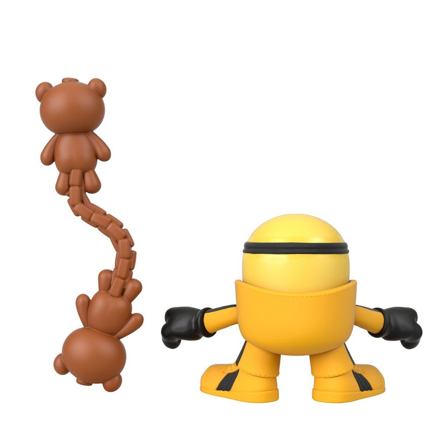 Mini-Figura---Imaginext-Minions-Kung-Fu-Bob---Amarelo---Fisher-Price---Mattel--1