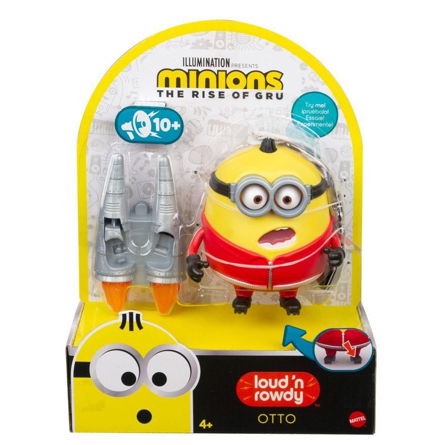 Mini-Figura---Minions-Barulhentos-e-Bagunceros---Otto-com-Patins-de-Foguete---Mattel-3