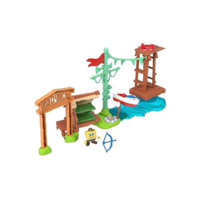 Playset---Bob-Esponja---Imaginext---Campo-Coral---Mattel-0