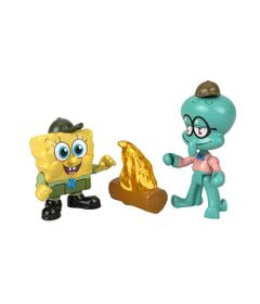 Mini-Figuras---Bob-Esponja--Imaginext---Bob-Esponja-e-Lula-Molusco---Mattel-0