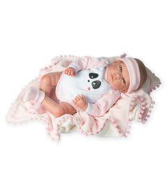 Boneca-Bebe---Reborn-Mini---39cm---Rosa---Novabrink-0