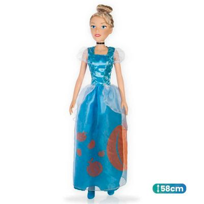 Boneca-Classica---Cinderela---Mini-My-Size---55cm---Princesas-Disney---Novabrink-0