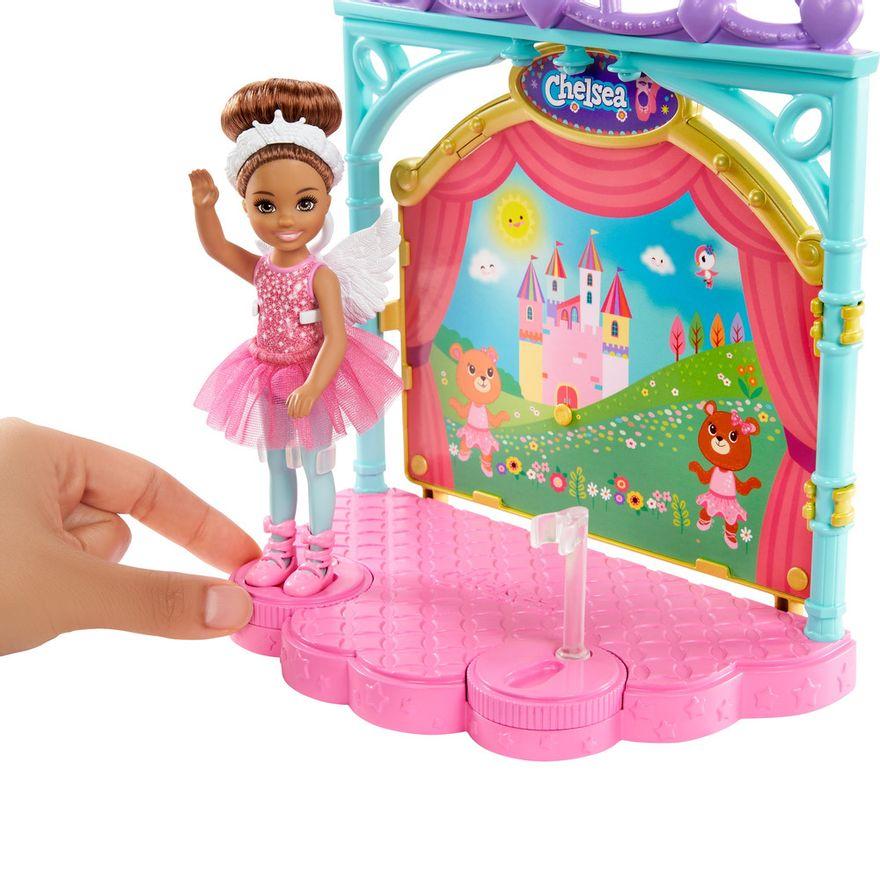 Playset-e-Boneca-Barbie---Sisters-E-Pets-Chelsea---Aulas-de-Ballet---Mattel-3