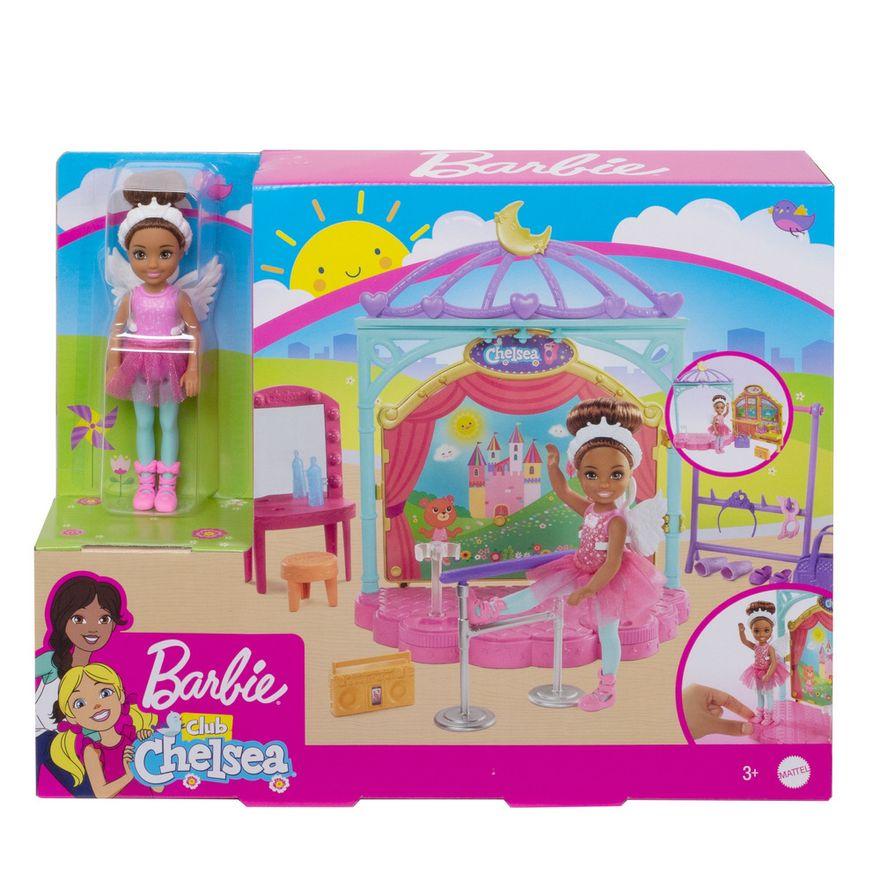 Playset-e-Boneca-Barbie---Sisters-E-Pets-Chelsea---Aulas-de-Ballet---Mattel-4