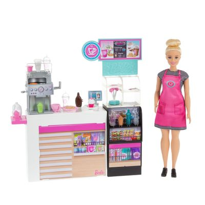 Playset---Barbie----Careers-Cafeteria---Mattel-0