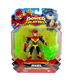 Figura-Articulada---12Cm---Power-Players---Axel---Sunny