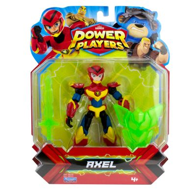 Figura-Articulada---12Cm---Power-Players---Axel---Sunny