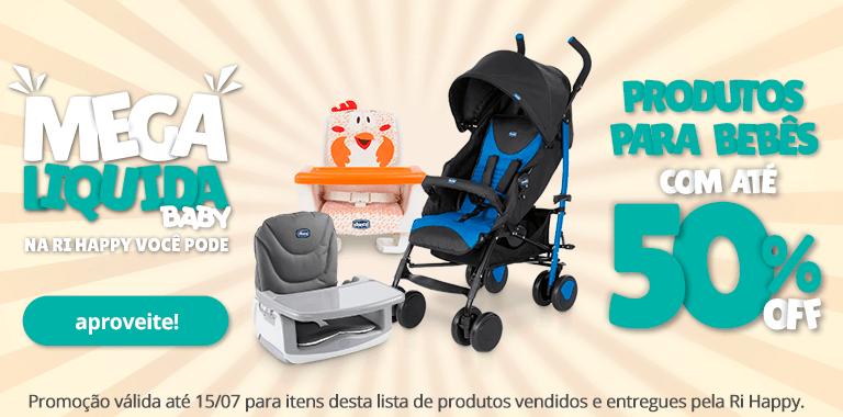 3 - Mega Liquida - Produtos para bebê com até 50% OFF - FullBanner - Mobile - act
