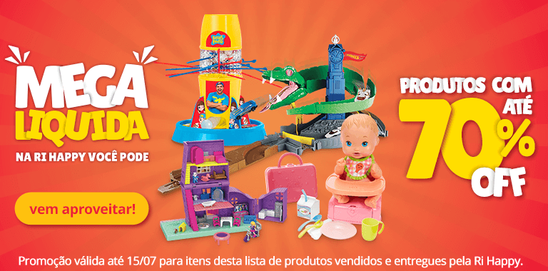 1 - Mega Liquida - Kids até 70% OFF - FullBanner - Mobile - act