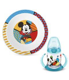 100232662-Kit-de-Alimentacao-com-Prato-Fundo-e-Copo-de-Treinamento---150Ml---Disney-By-Britto---Mickey-Mouse---NUK_Frente