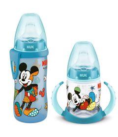 100232672-Kit-de-Copos-de-Treinamento---150Ml-e-300M---Disney-By-Britto---Mickey---Nuk_Frente_Frente