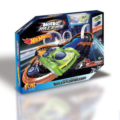 Pista-de-Percurso---Hot-Wheels---Wave-Racers---Pista-Triple-Skyloop---FUN-0