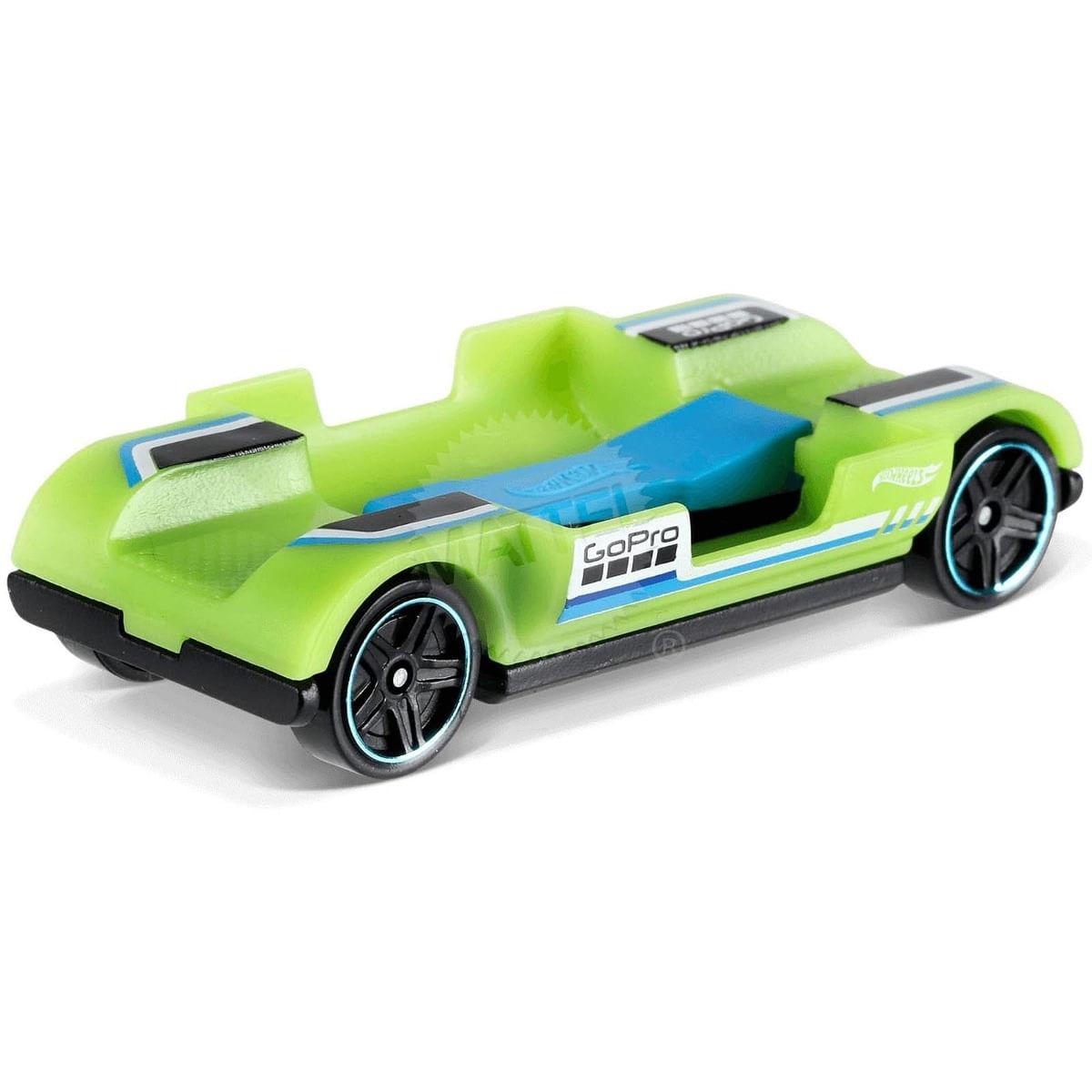 Hot Wheels Básico - Collectors - Experimotors Zoom - I Gopro - Verde - Mattel