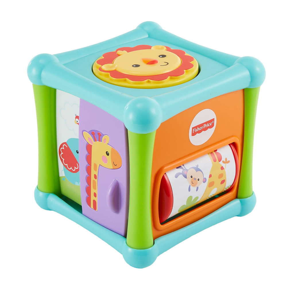 Brinquedo de Atividades - Cubo Animaizinhos Divertidos - Fisher-Price