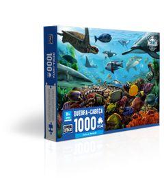 Quebra-Cabeca--1000-Pecas---Criaturas-Marinhas---Game-Office---Toyster-0