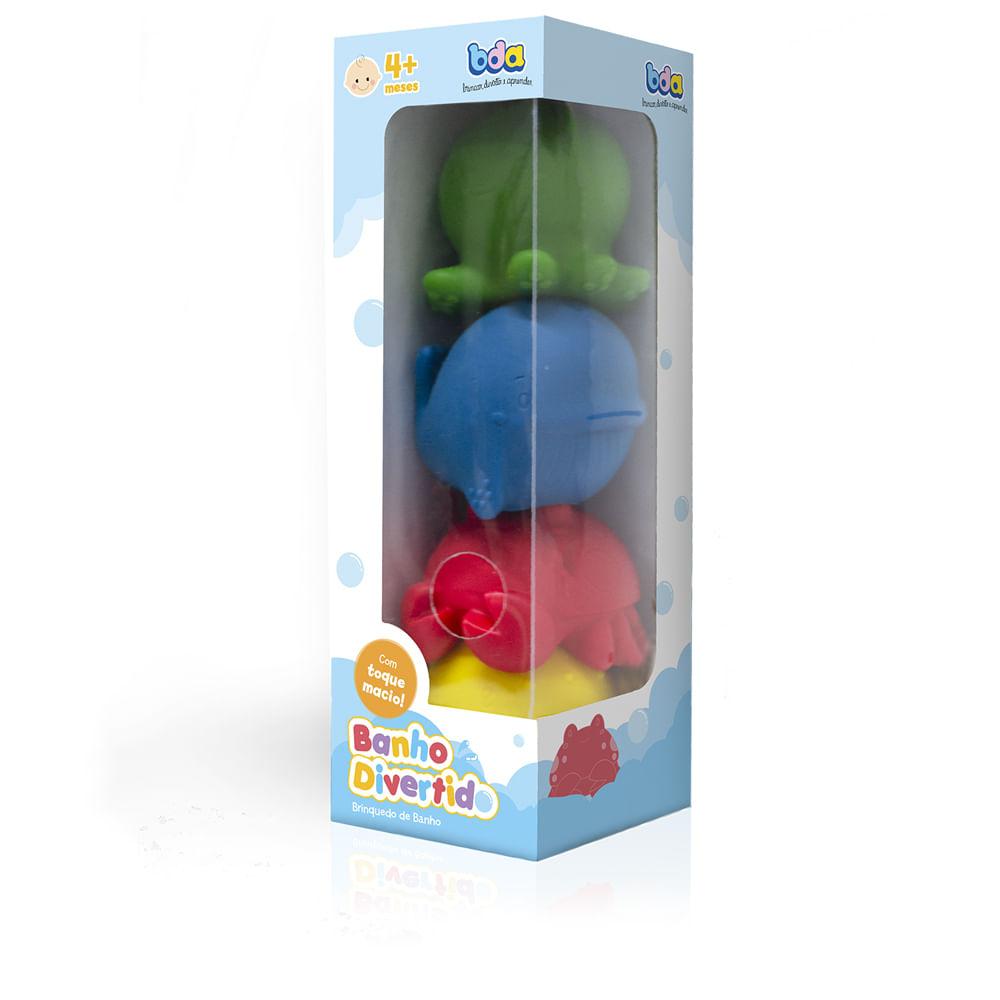 Brinquedo De Atividades - Banho Divertido - Toyster
