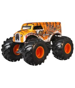 Veiculo-Hot-Wheels---1-24---Monster-Trucks---Tiger-Shark---Pit-Crew---Mattel_Frente