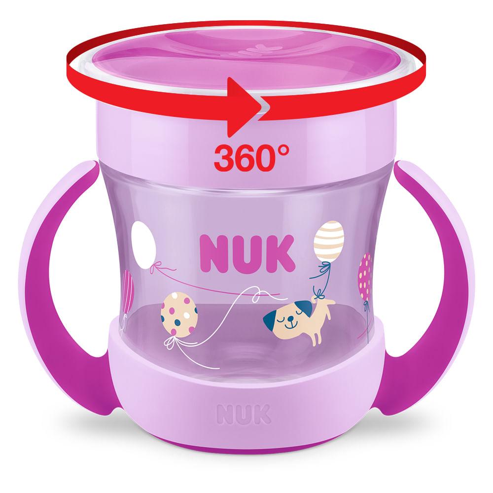 Copo Com Alça - 160Ml - Magic Cup 360º - Girl - NUK