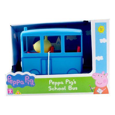 Mini-Veiculo---Peppa-Pig---Onibus-Escolar---Azul---Sunny-0