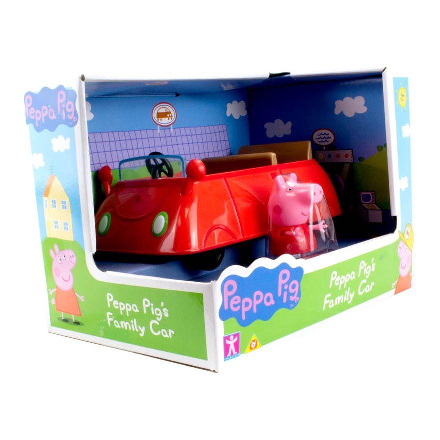 Mini-Veiculo---Peppa-Pig---Carro-Familia-Peppa---Vermelho---Sunny-1