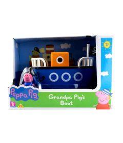 Mini-Veiculo---Peppa-Pig---Barco---Azul--Sunny-0