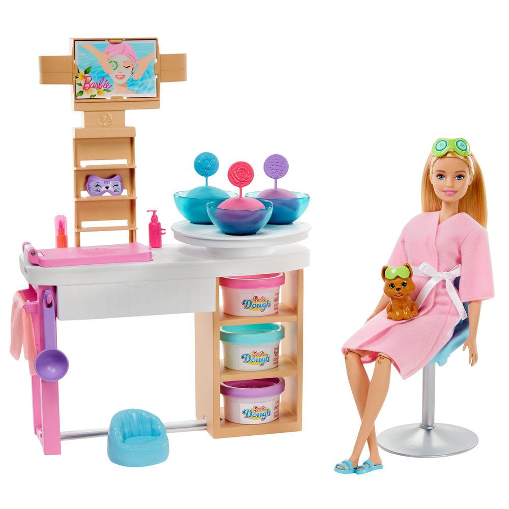 Boneca Barbie - Barbie Salão De Beleza - Spa De Luxo - Mattel