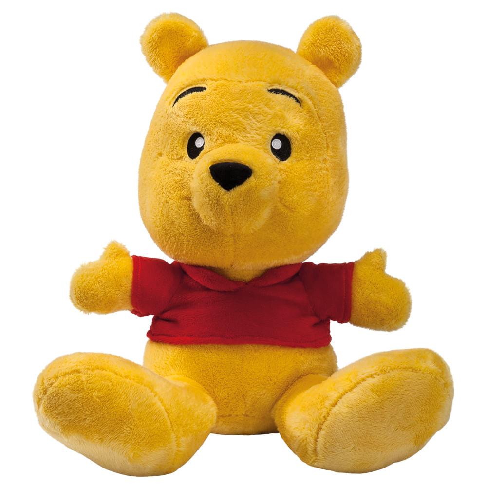 Pelúcia Básica - 30Cm - Disney - Pooh Big Feet - Fun