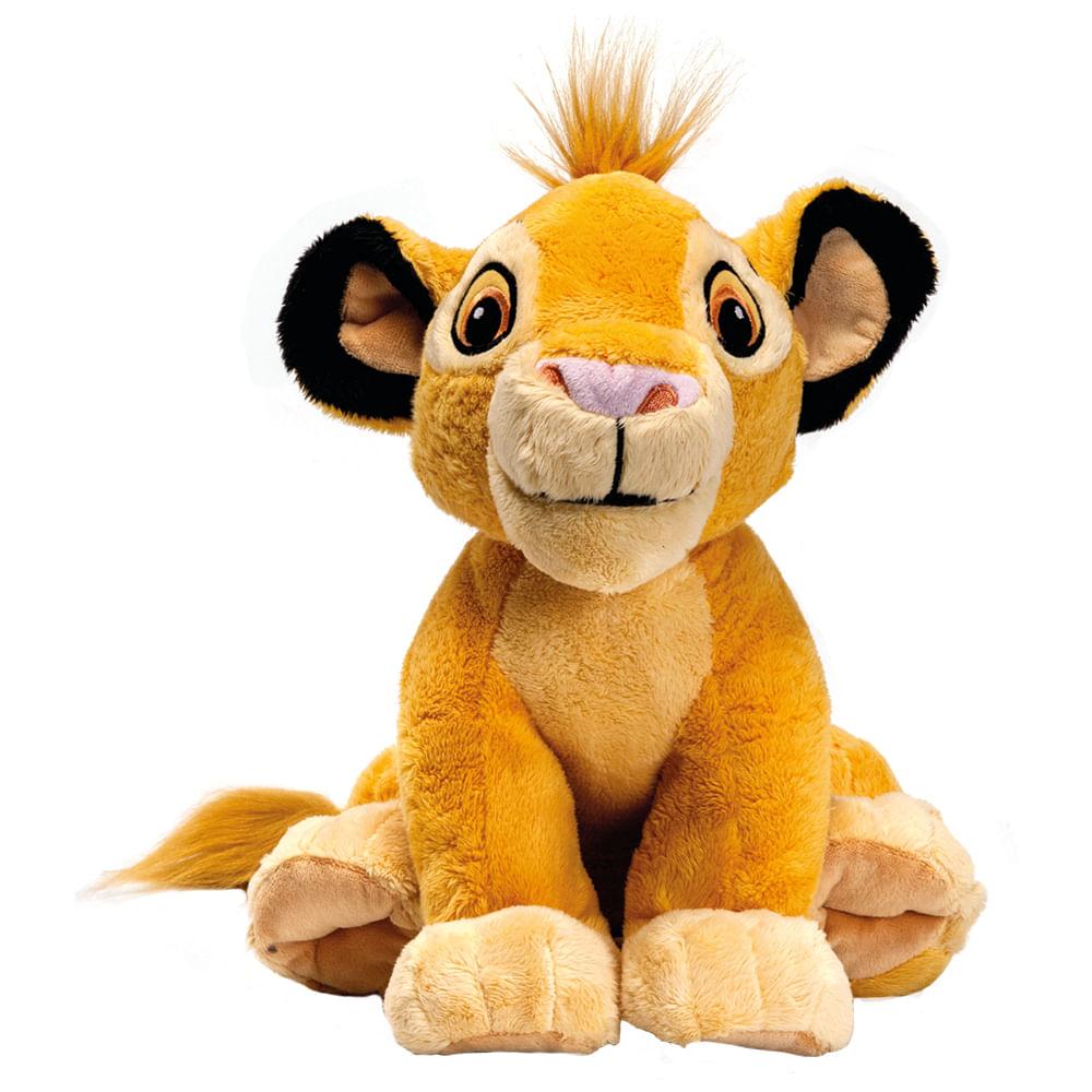 Pelúcia Básica - 30Cm - Disney - Rei Leão - Simba - Fun
