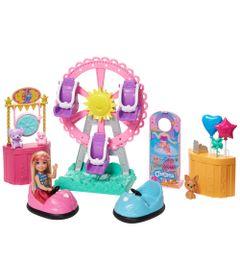 Playset-e-Boneca-Barbie---Barbie-Sisters-e-Pets---Chelsea-Parque-de-Diversoes---Mattel-0