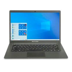 Notebook Multilaser Legacy Cloud 14 Pol. 2GB 32GB Windows 10 Cinza - PC130