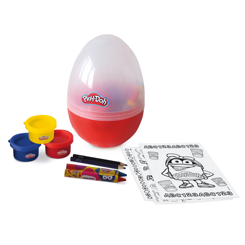 Conjunto De Artes - Ovo Criativo - Play-Doh - Fun