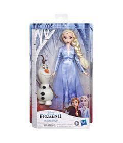 Boneca-Articulada---Disney---Frozen-2---Elsa-e-Olaf---Hasbro-0