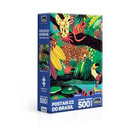 Quebra-Cabeca---500-Pecas-Nano---Postais-do-Brasil---Natureza---Game-office---Toyster-0