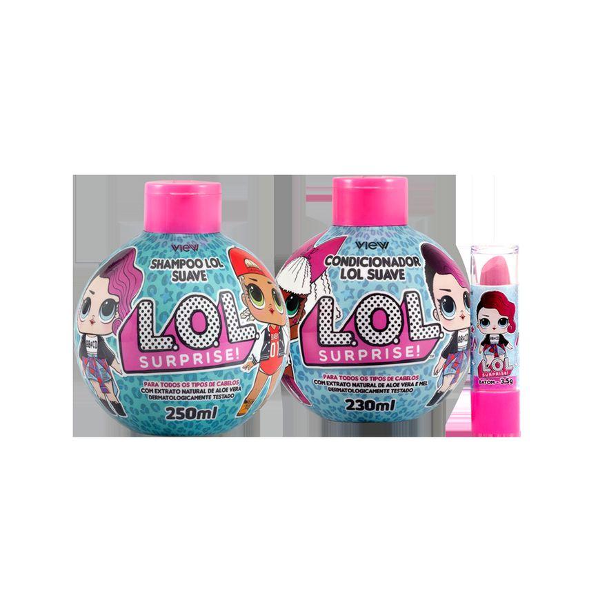 Higiene-e-Beleza---Kit-Lol-Suave---Shampoo---Condicionador---Batom---View-Cosmeticos-1