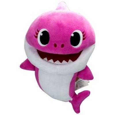 Pelucia-Baby-Shark---Fantoche-com-Musica---Rosa---Sunny-0