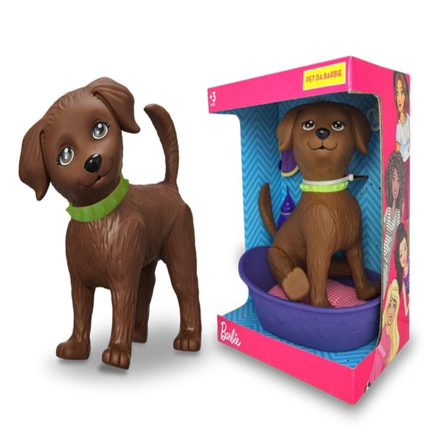 Figura-com-Acessorios---Pet-da-Barbie---DJ-Marrom---Pupee-0
