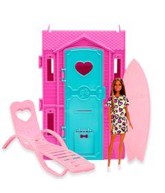Playset-e-Boneca-Barbie---Surf-Studio-da-Barbie-com-Vestido-Amarelo---Fun-0