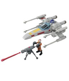 Figura-Articulada-e-Veiculo---Disney---Star-Wars---Mission-Fleet-Stellar---X-Wing-Fighter---Hasbro-0