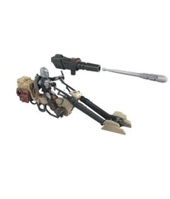 Mini-Figura-Articulada-e-Veiculo---Disney---Star-Wars---Mission-Fleet---Speeder-Bike---Hasbro-0