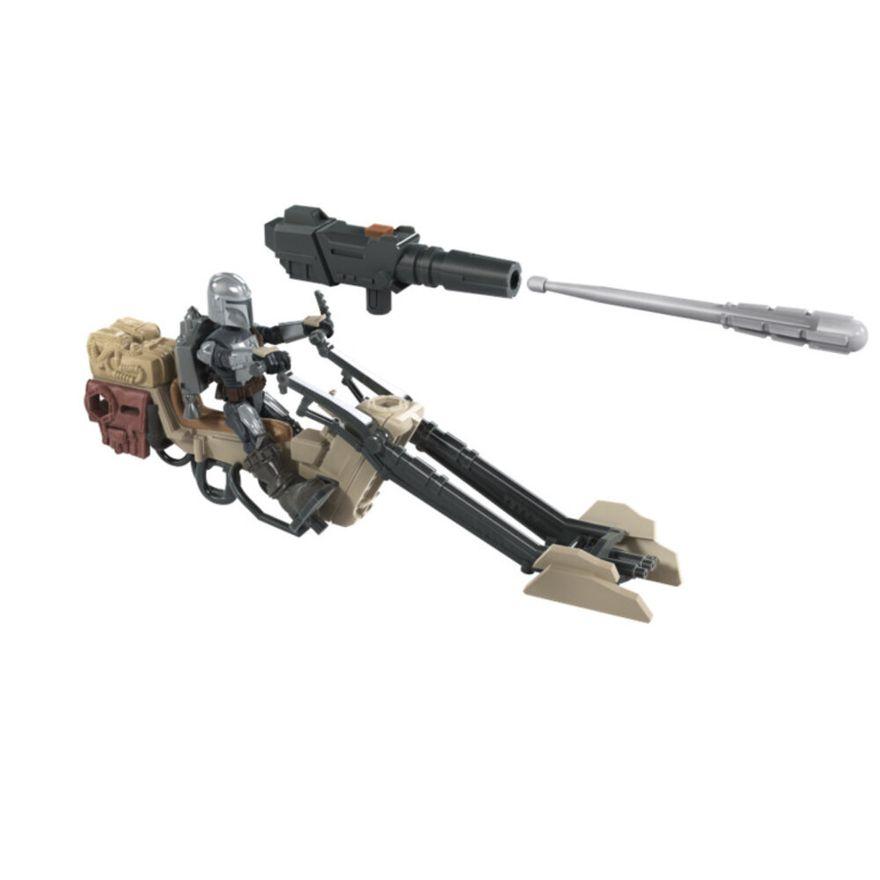 Mini-Figura-Articulada-e-Veiculo---Disney---Star-Wars---Mission-Fleet---Speeder-Bike---Hasbro-0