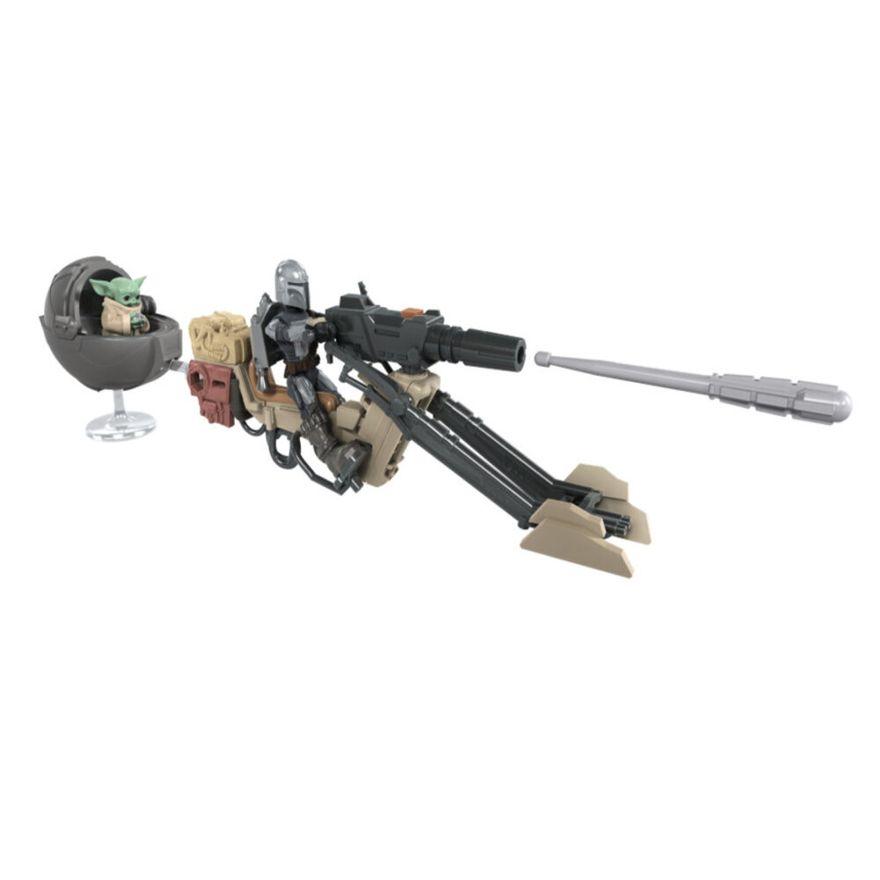 Mini-Figura-Articulada-e-Veiculo---Disney---Star-Wars---Mission-Fleet---Speeder-Bike---Hasbro-2
